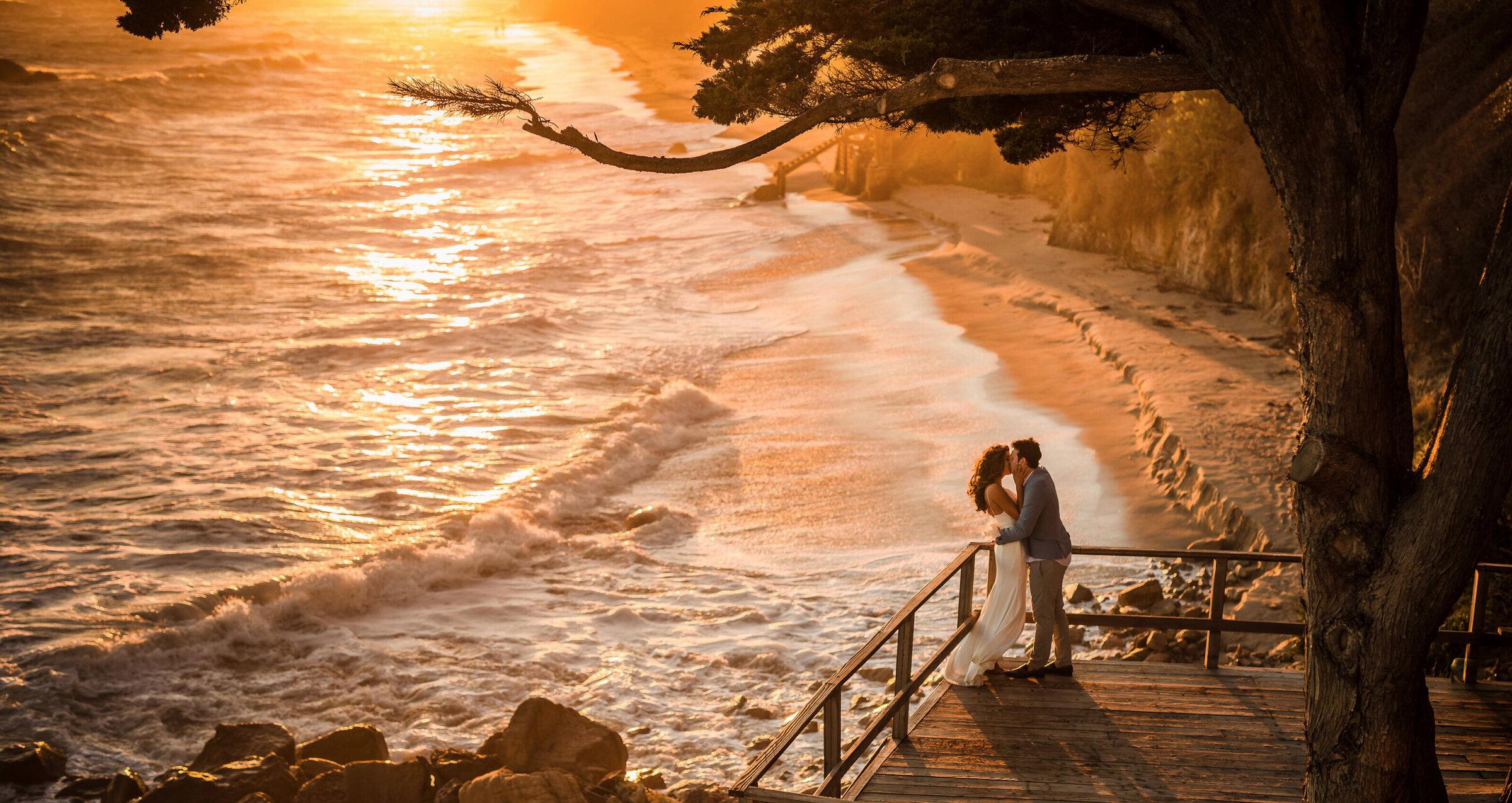 mhart photography home header malibu wedding