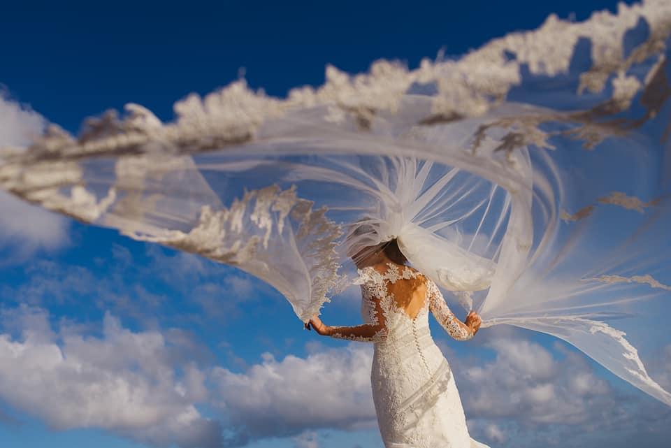 veil wedding photography citlalli rico
