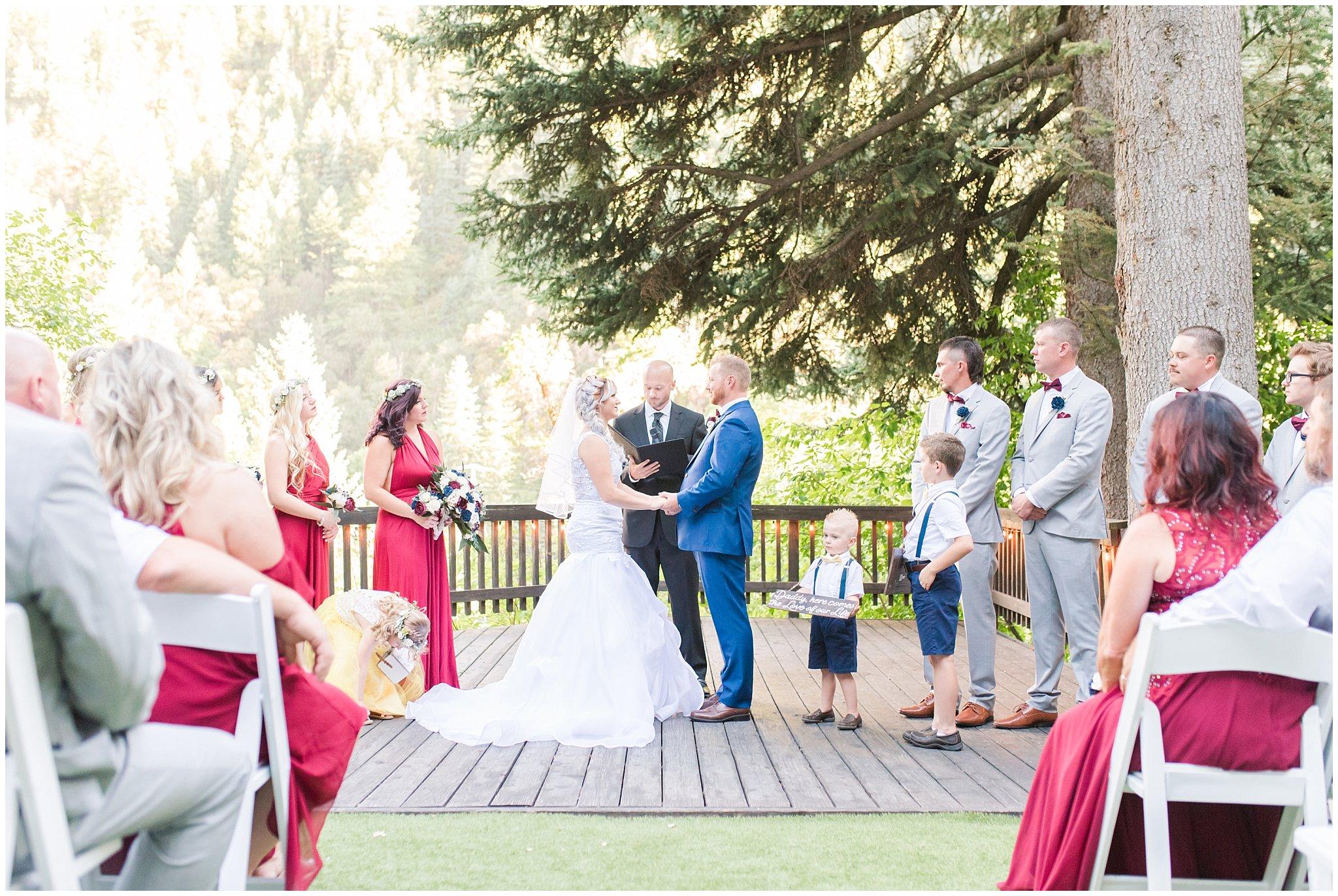 log haven wedding jessie and dallin photography
