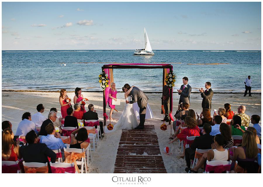 azul beach resort riviera cancun wedding citlalli rico photography