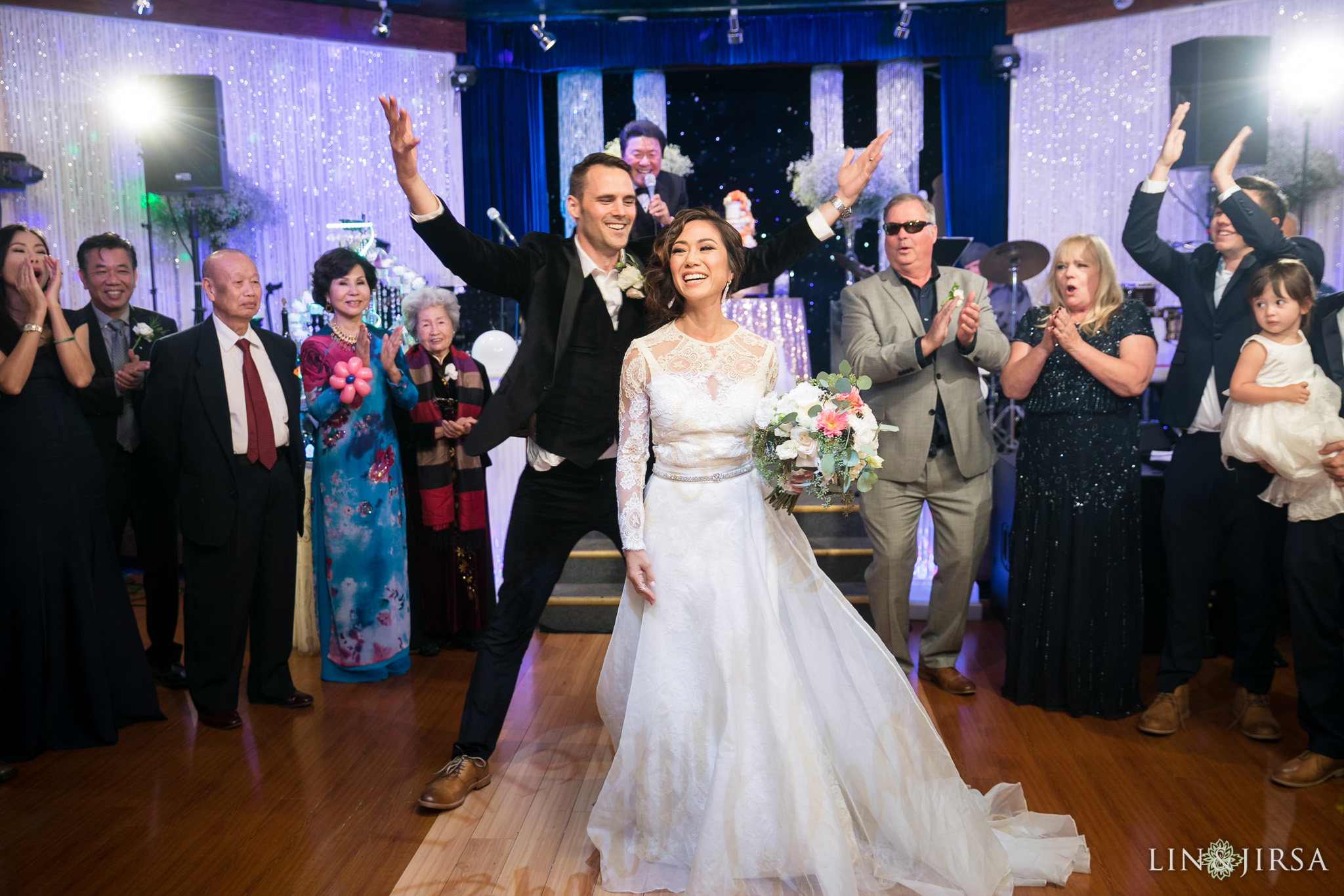 diamond seafood palace gardenss wedding lin and jirsa photography