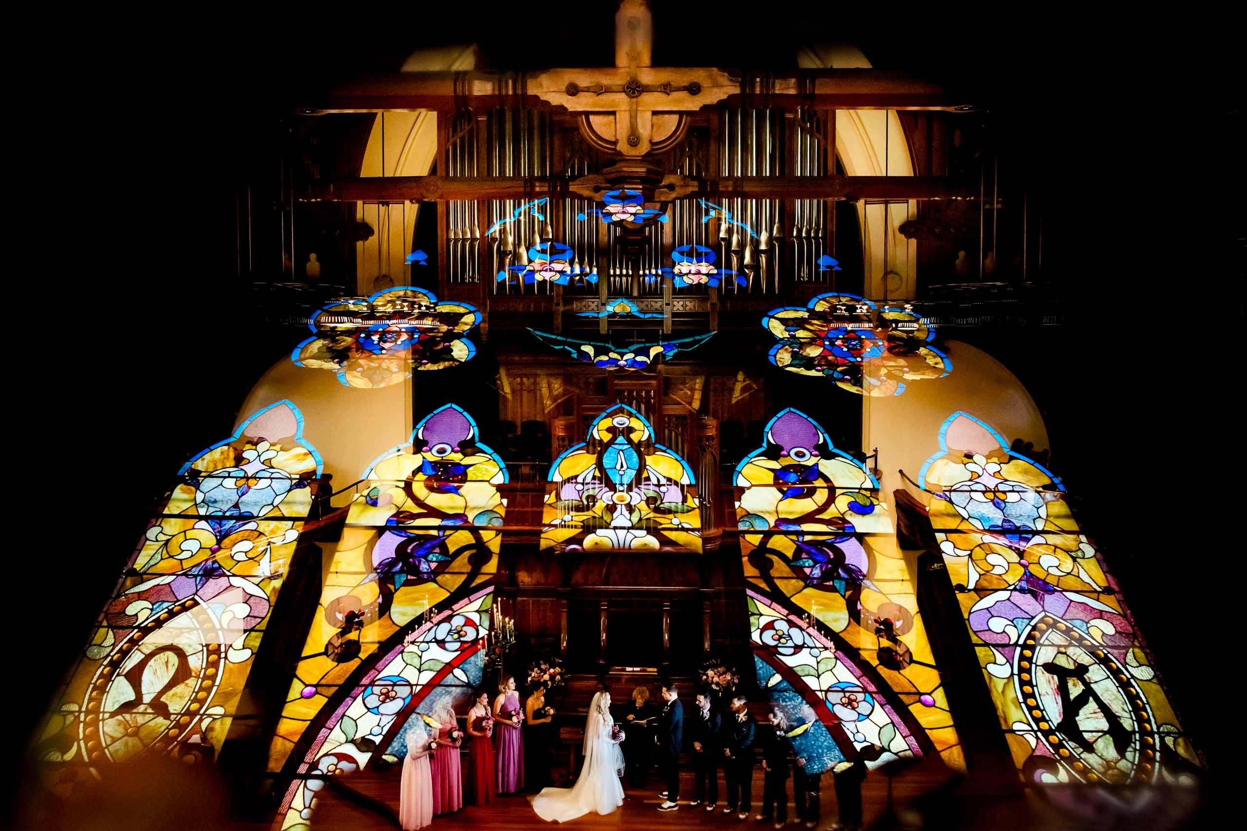 first presbyterian church portland wedding jos and tree photography