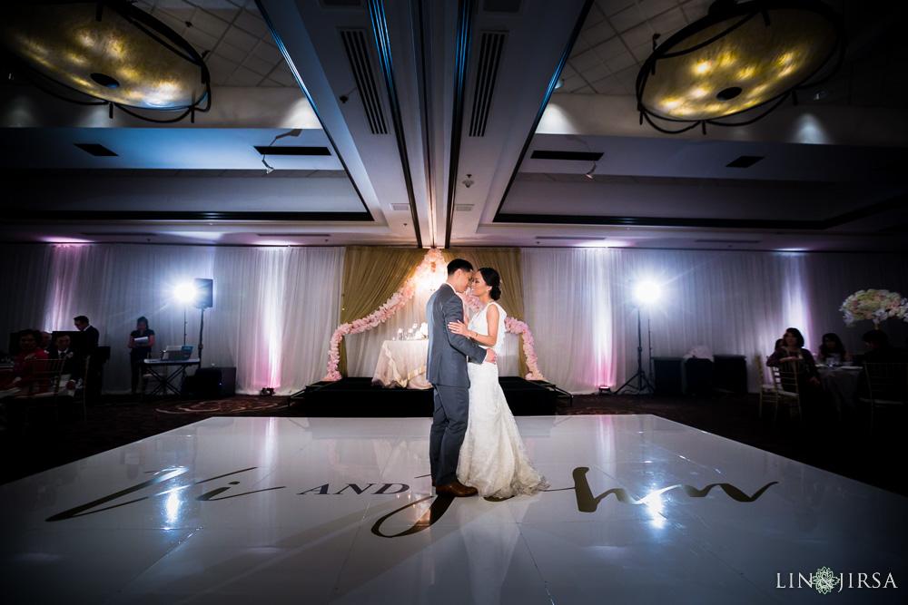 hilton costa mesa wedding lin and jirsa photography