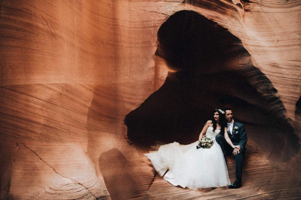 horseshoe slot canyon wedding timothy eyrich photography