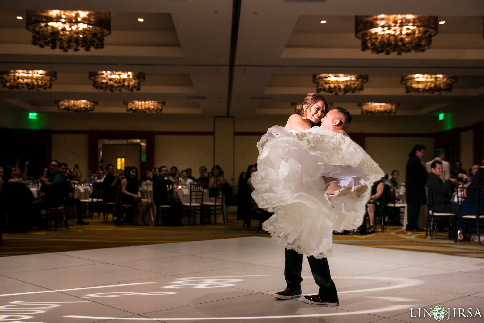 hyatt regency orange county wedding lin and jirsa photography