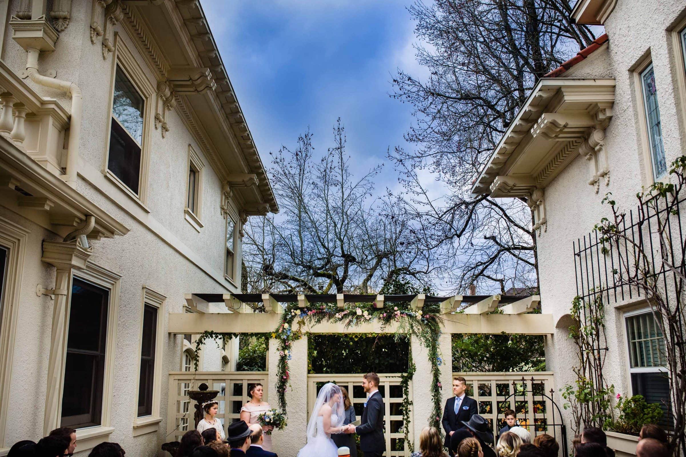portland white house wedding jos and tree photography