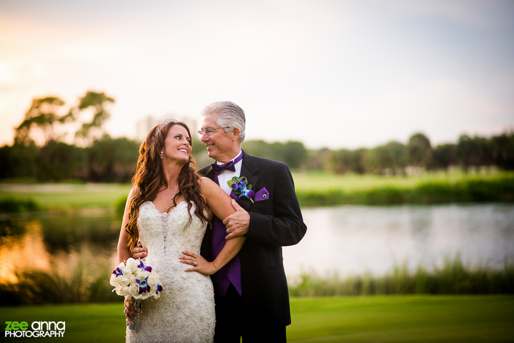 the colony golf and country club wedding zee anna photography