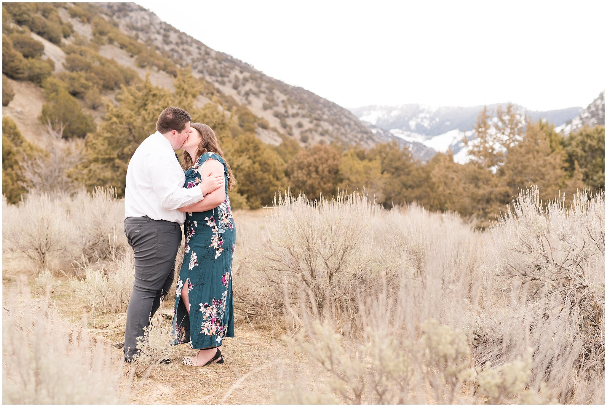 green canyon engagement jessie and dallin photography