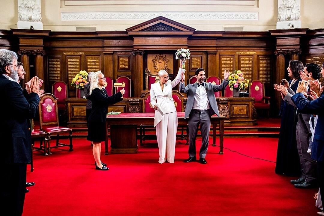 islington town hall wedding soven amatya photography