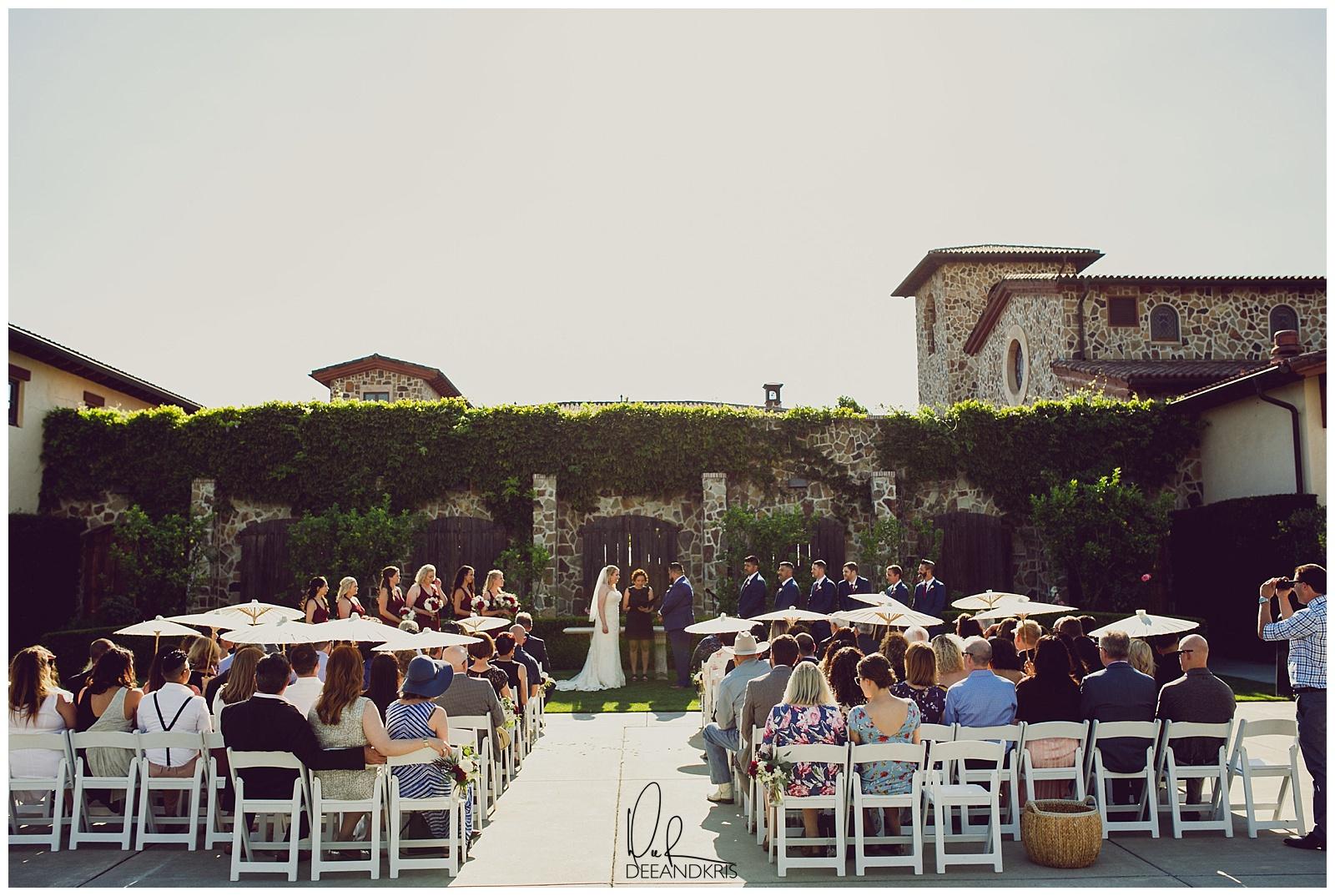 jacuzzi family vineyard wedding dee and kris photography