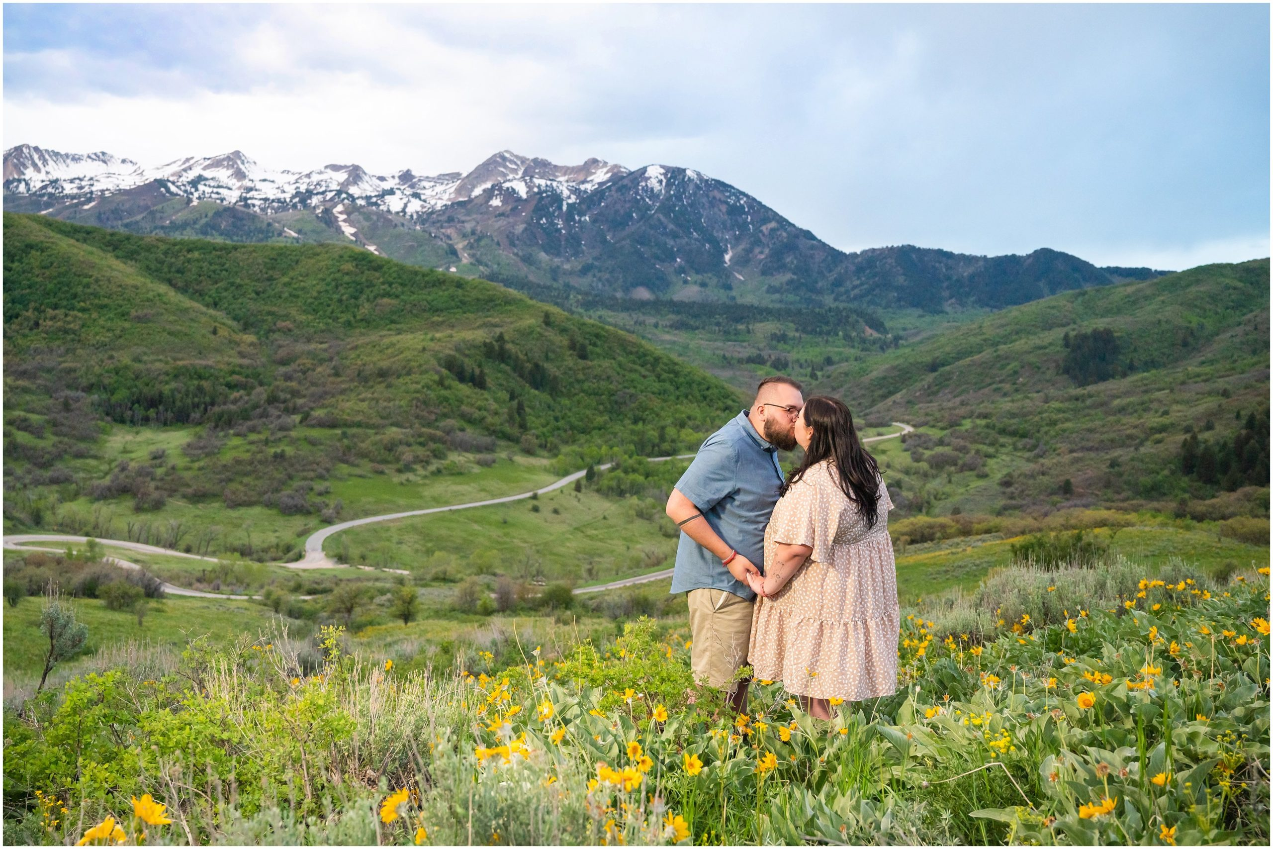 ogden valley engagement jessie and dallin photography
