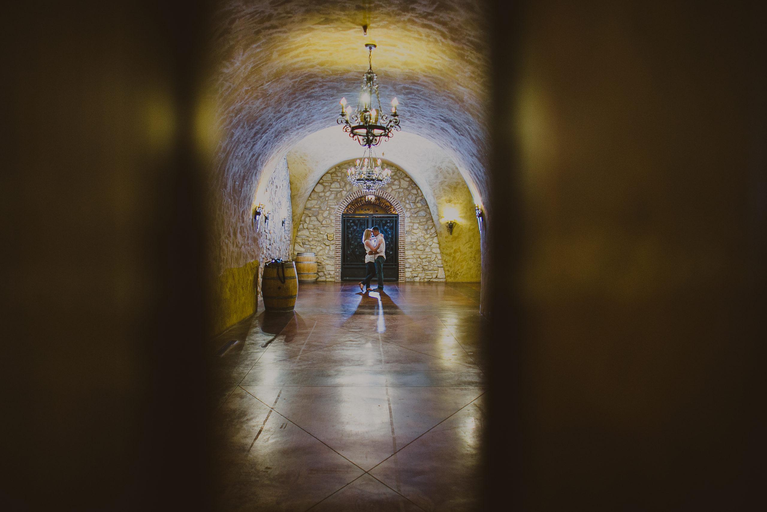 trinitas cellars engagament dee and kris photography
