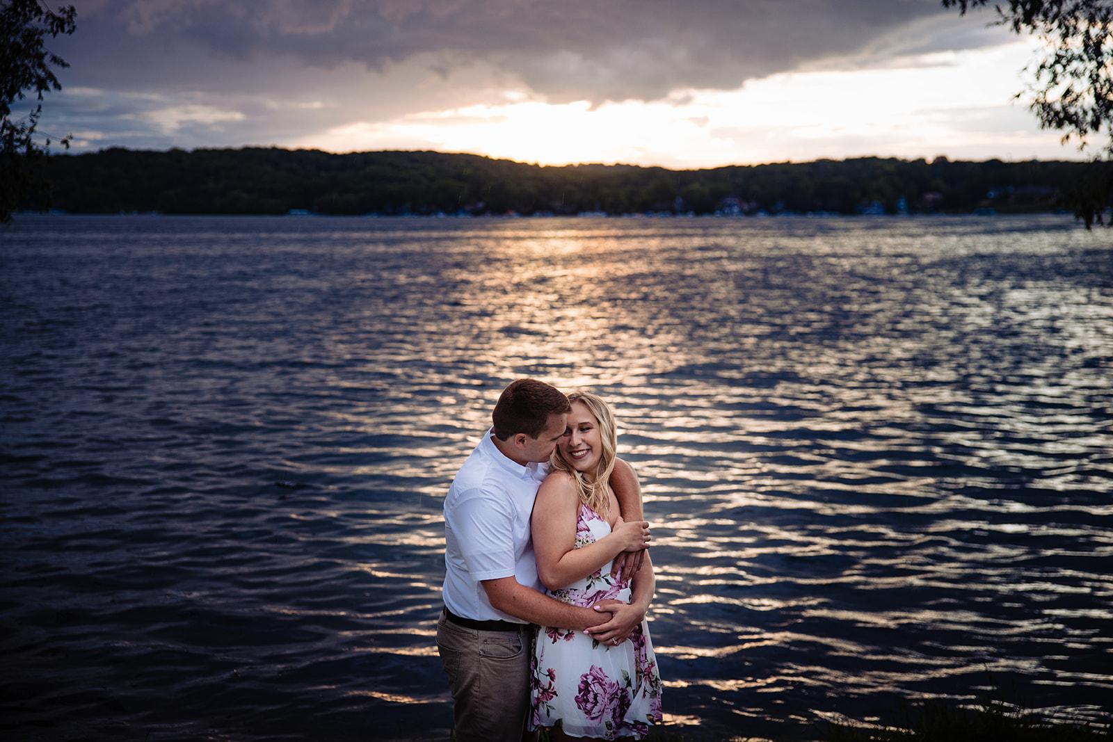 lake geneva engagement henington studios photography