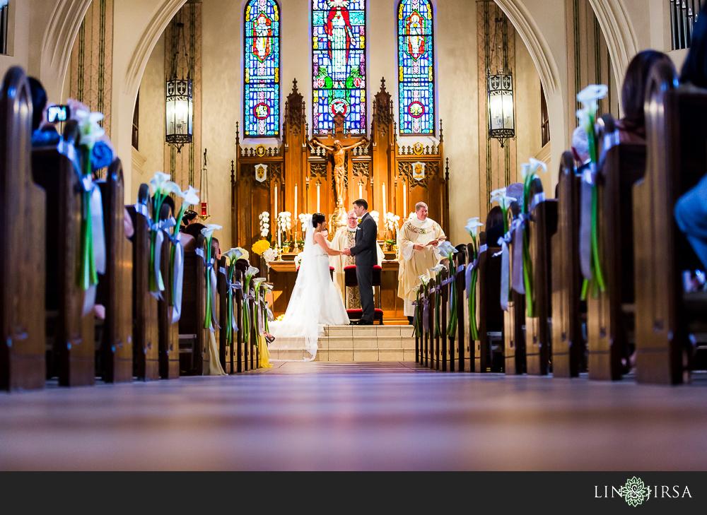 West Hollywood Catholic Wedding Program