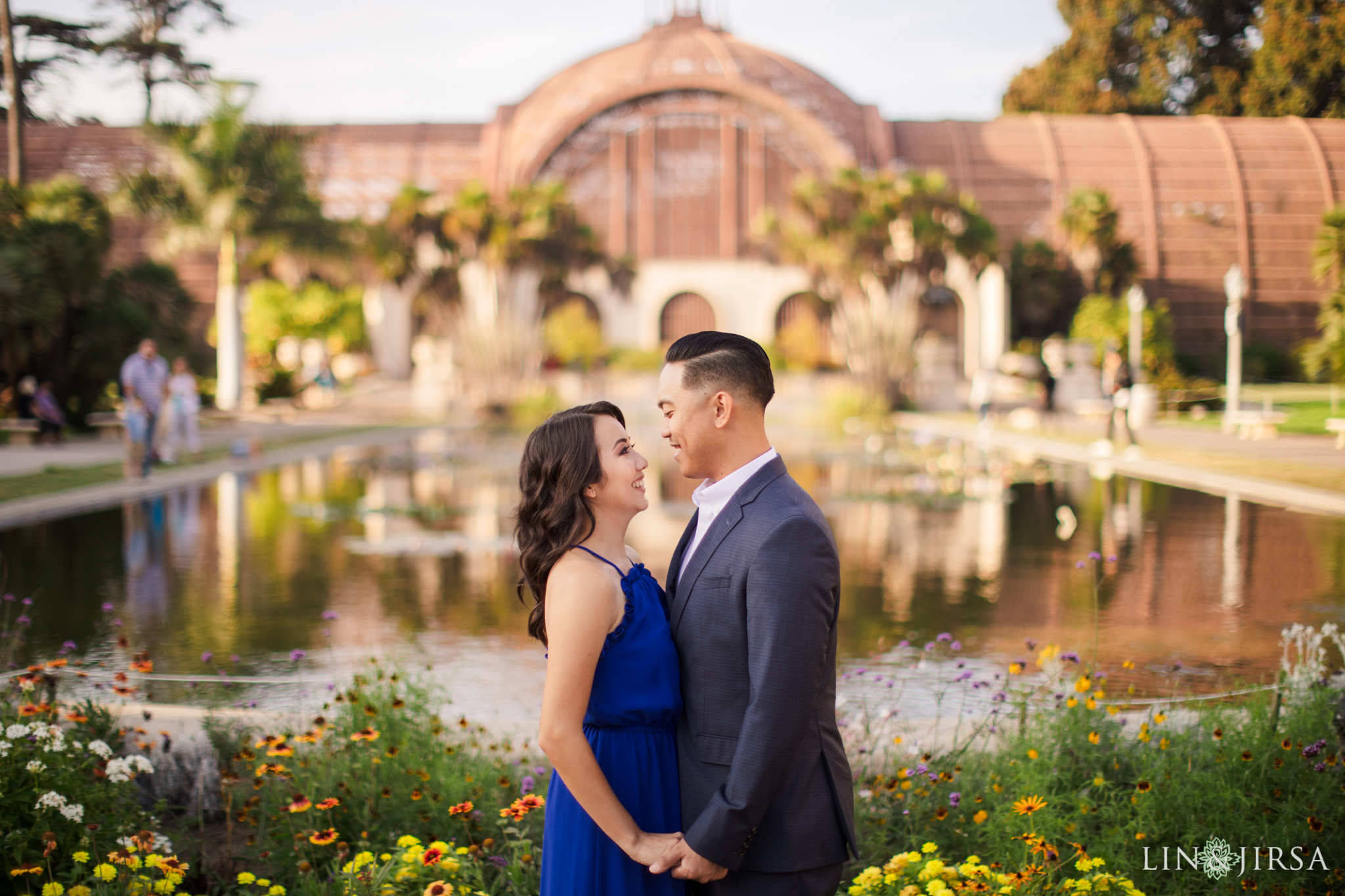 balboa park engagement lin and jirsa photography
