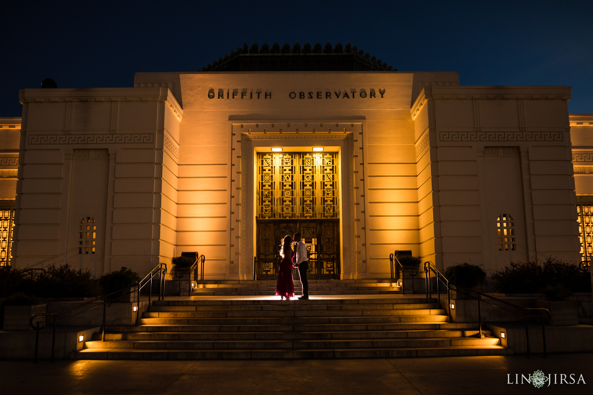 griffith park engagement lin and jirsa photography