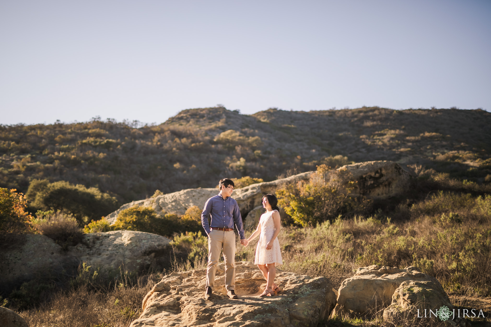 irvine regional park engagement lin and jirsa photography