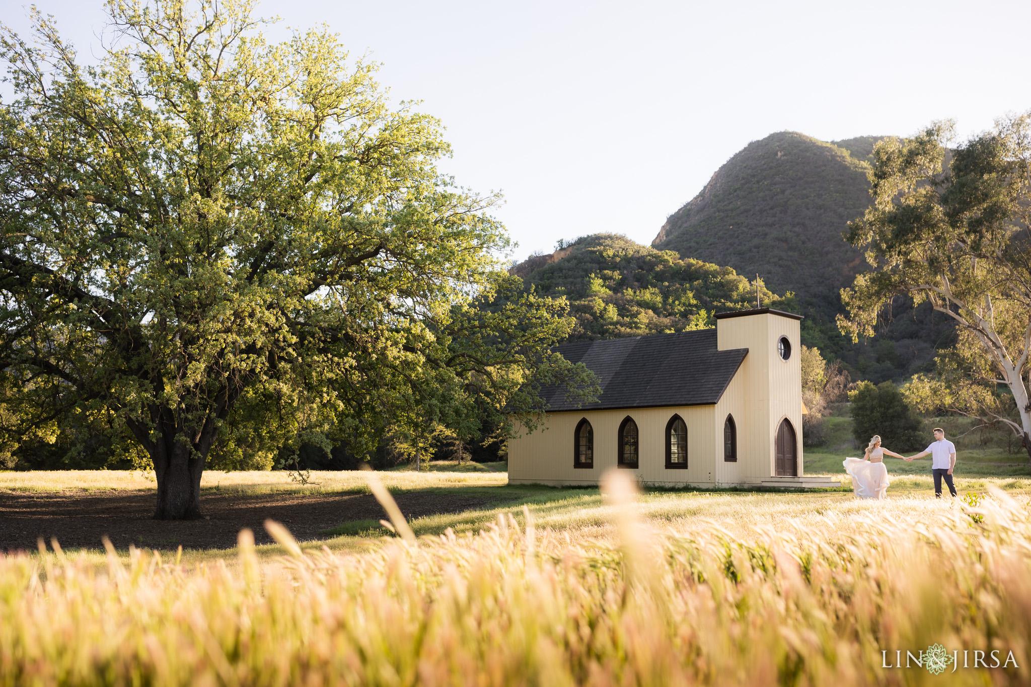 paramount ranch engagement lin and jirsa photography