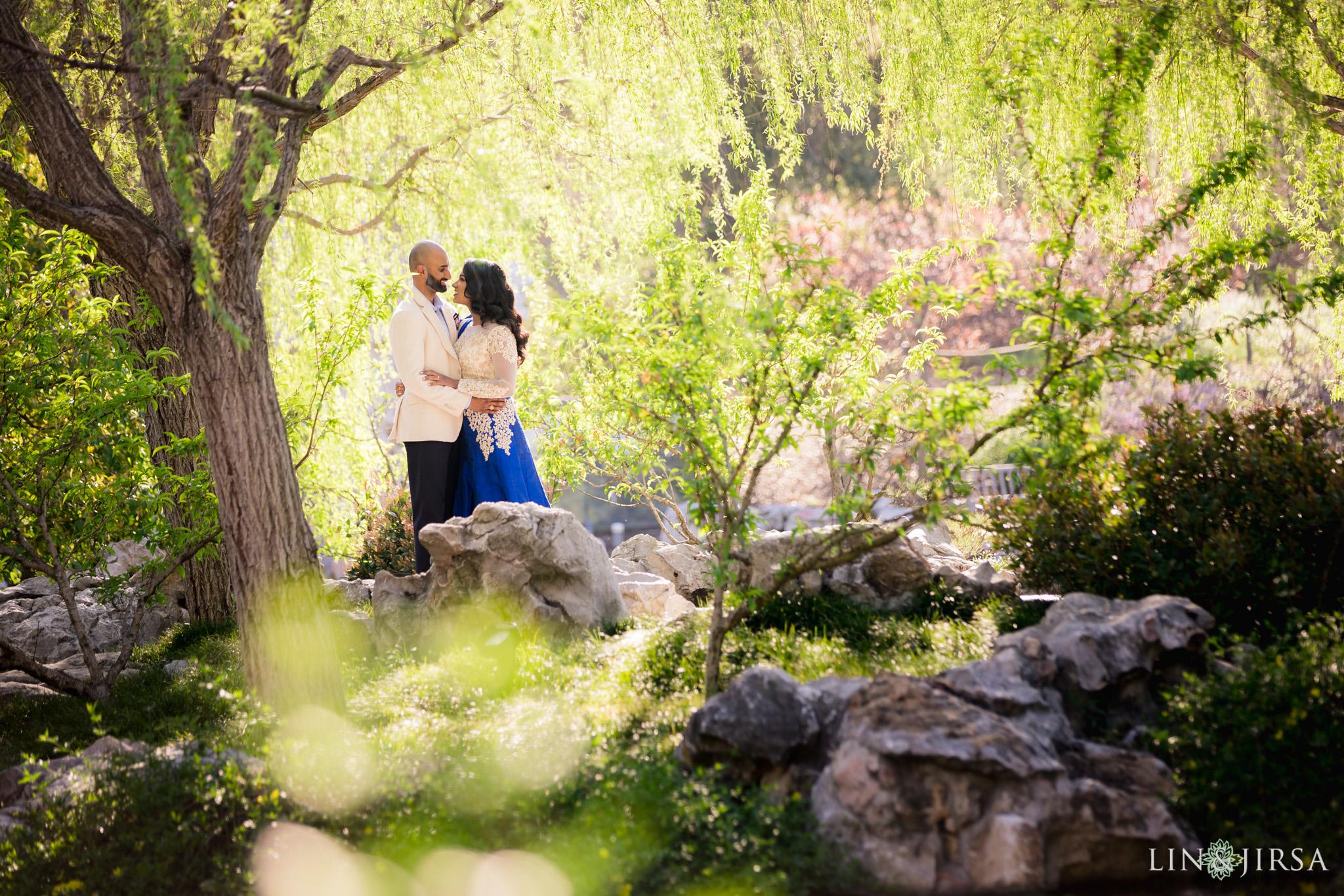 the huntington botanical gardens engagement lin and jirsa photography