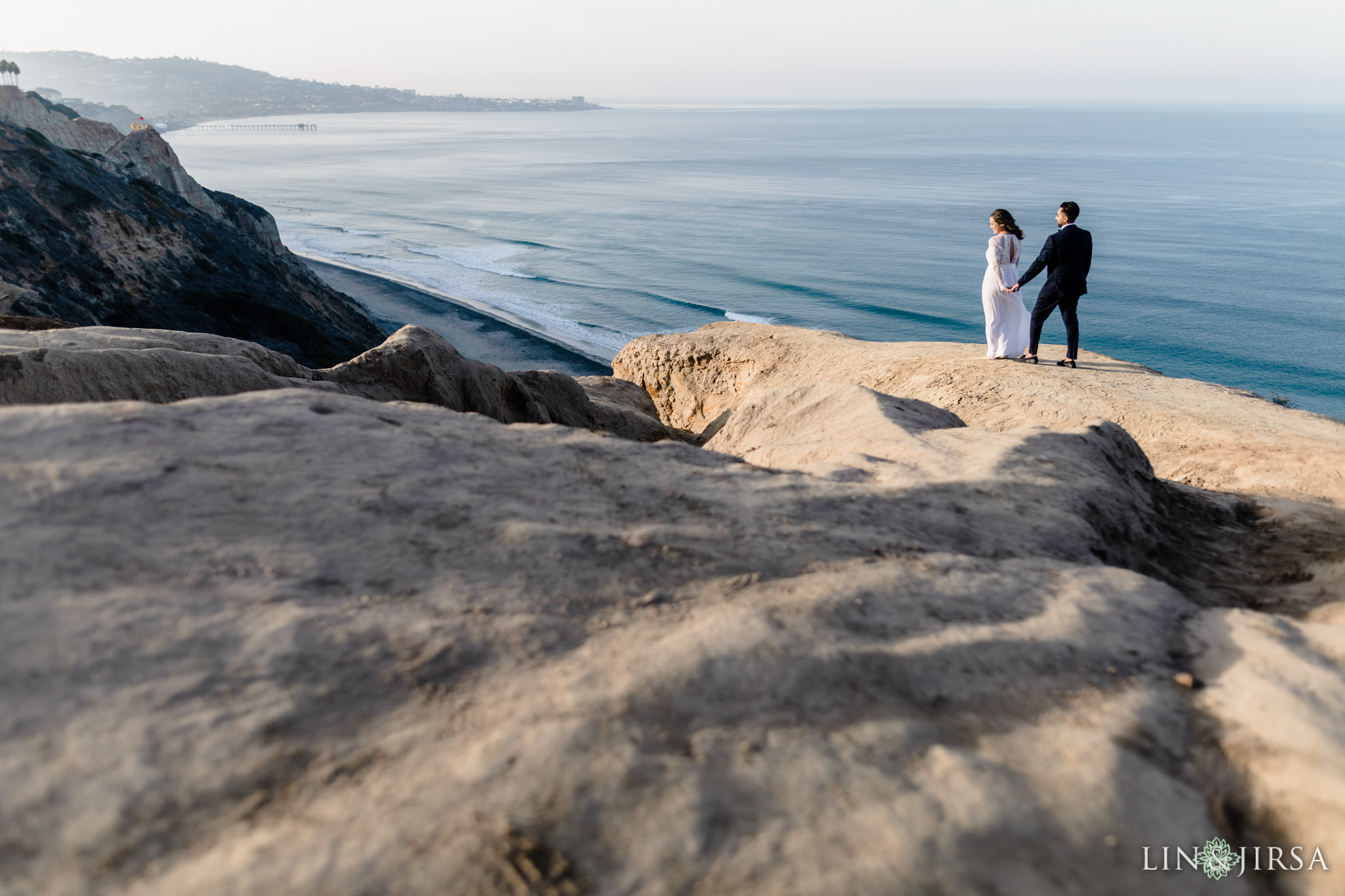 torrey pines engagement lin and jirsa photography